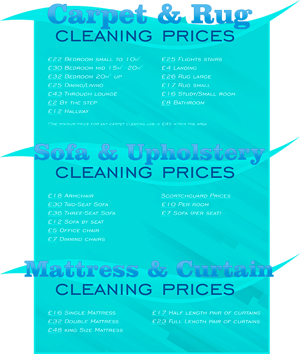 the prices you can see below cover not only carpet cleaning regular cleaning services but also all of the onetime cleaning jobs for which our